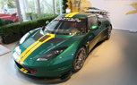 Lotus Evora Cup GT4 Debuts at Pebble Beach in Stunning Green and Yellow Livery