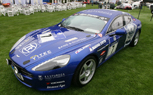 Aston Martin Rapide Race Car at The Quail, Fresh from 2nd Place Nürburgring 24 Finish