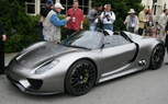 Porsche 918 Spider Debuts at Pebble Beach as Hybrid Supercar of the Near Future