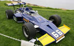 Indianapolis Motor Speedway Hall of Fame Museum Cars on Display at Pebble Beach