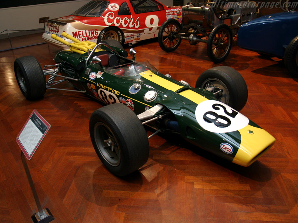 Restored 1965 Indy 500 Winner to Debut at Pebble Beach ...