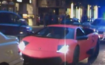 Pink Lamborghini Murcielago LP670 SV Impounded in London [video]
