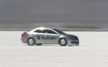 Suzuki Kizashi Sets 203.7-MPH Record at Bonneville Salt Flats