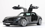 Brabus Mercedes SLS AMG is Fast, Black and Expensive