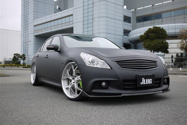 Matte Black Infiniti G37 By Access Evolution Looks Stunning And Mean