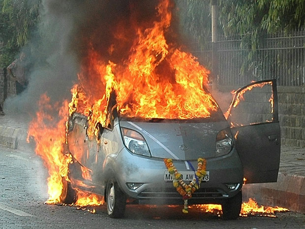 Tata Nano Is The Latest Car To Go Up In Flames 187 Autoguide