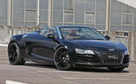 Sport Wheels Galactic Audi R8 V10 Spyder Puts Down 600-HP, Looks Incredible