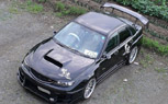 Japanese Tuner Gives Second-Gen Subaru Impreza STi a Third-Gen Facelift