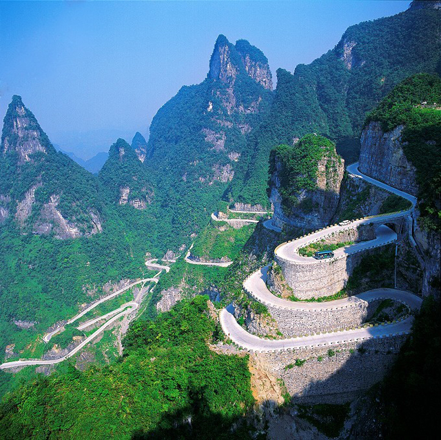 Rav4 Vs Forester >> China's Tianmen Mountain Winding Road Joins Our List of Dream Drives » AutoGuide.com News