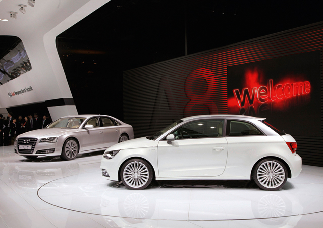 audi a1 e tron test fleet to hit the road in munich news. Black Bedroom Furniture Sets. Home Design Ideas