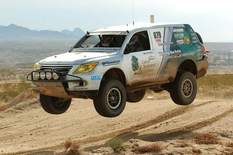 Lexus Wins First Off-Road Championship