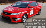 Kia Prepping Forte Koup for Targa Newfoundland
