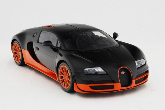Bugatti Veyron Super Sport Scale Model an Incredibly Accurate