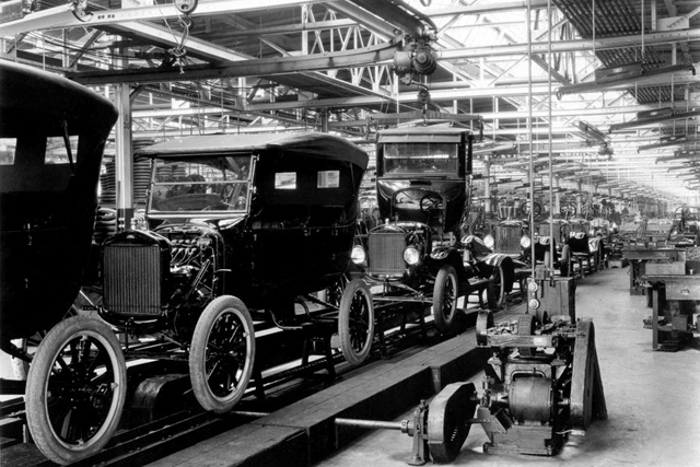 ford assembly line model t
