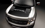 Ford Offers F-150 Raptor Matte-Black Hood Decal in Nod to Historic Bronco Racers