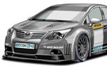 Toyota Joining British Touring Car Championship With Avensis