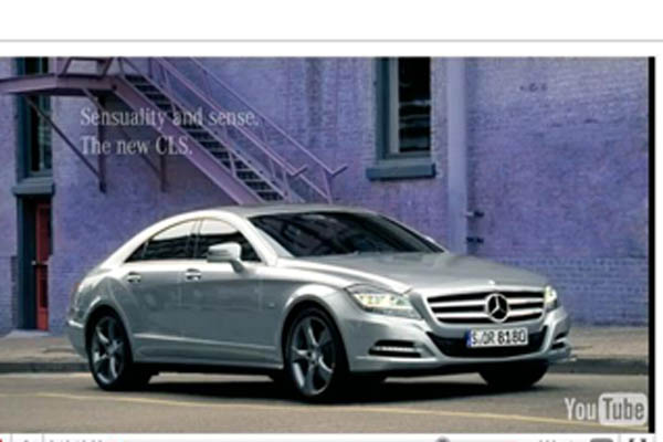 New mercedes benz cls ad is for the children autoguide for Mercedes benz new advert