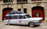 Replica of Ghostbusters Ecto-1 Cadillac Up For Auction
