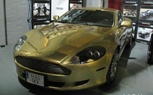 Gold Wrapped Aston Martin DB9 Could be Yours For $154,500