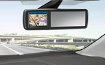 Ford's  MirrorNavi Combines Rear-View Mirror and GPS into One