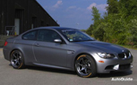 Turner Motorsport Prepping Frozen Gray BMW M3 for Track Duty