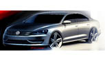Volkswagen Releases New Sketches of Next U.S. Passat