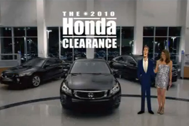 Honda S Quot Mr Opportunity Quot Ad Third Worst Of 2010 Video