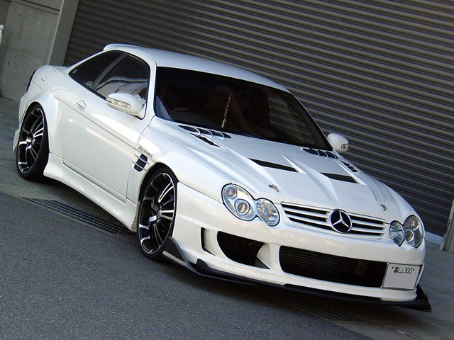 Mercedes Sl55 Amg Inspires Lexus Sc300 Project Car
