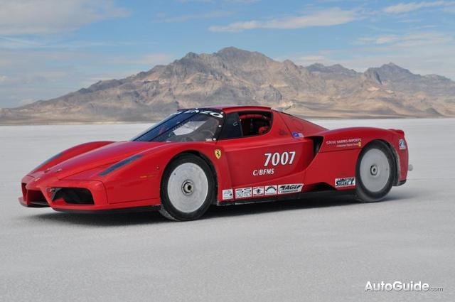 you thought having a ferrari enzo was cool enough these days how about a twin turboed one that set a class speed record and subsequently an enzo top speed - Ferrari Enzo 2010