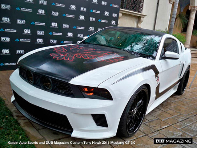 Used Car Loan >> Galpin and DUB Build Ford Mustang For Tony Hawk Stand Up for Skateparks Auction » AutoGuide.com News