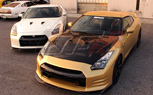 Top Secret Goes Gold With Nissan GT-R, Sports New Front Bumper