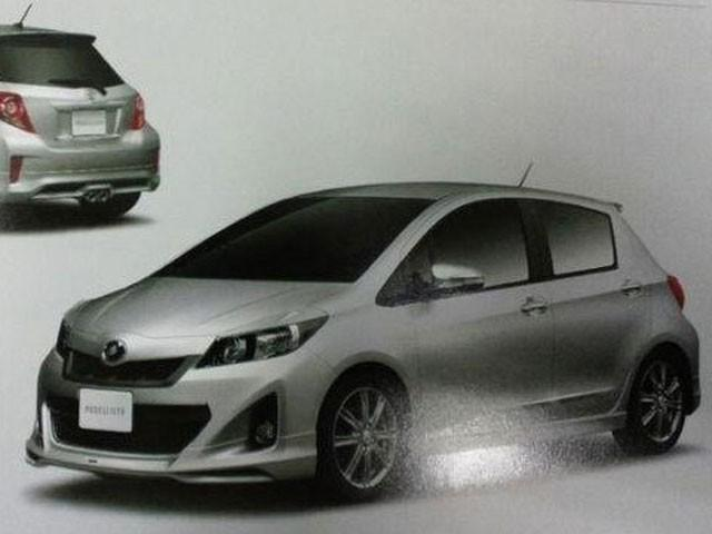 Honda Accessories Detroit >> 2012 Toyota Yaris/Vitz Revealed in Leaked Dealer Brochure » AutoGuide.com News