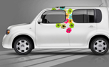 Nissan Offering Viny Wraps, Custom Graphics for Cube, Juke and Frontier