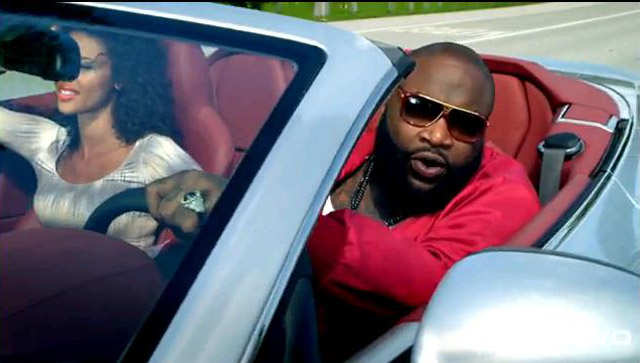 "rick ross takes product placement to next level with ""aston martin"