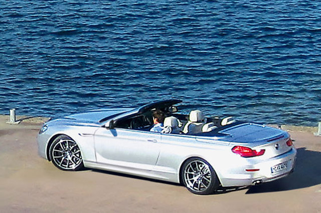 A Single Photo Of Bmw S New 6 Series Cabriolet Has Eared Online Courtesy The Folks At Autobild But Story Is More Than Just Simple Leak