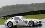 Mercedes SLS AMG GT3 Crashes in First Race [video]