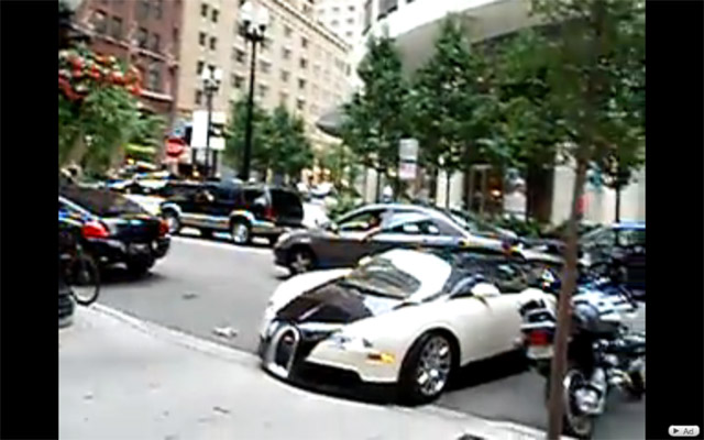 bugatti veyron fender bender caught on video news. Black Bedroom Furniture Sets. Home Design Ideas