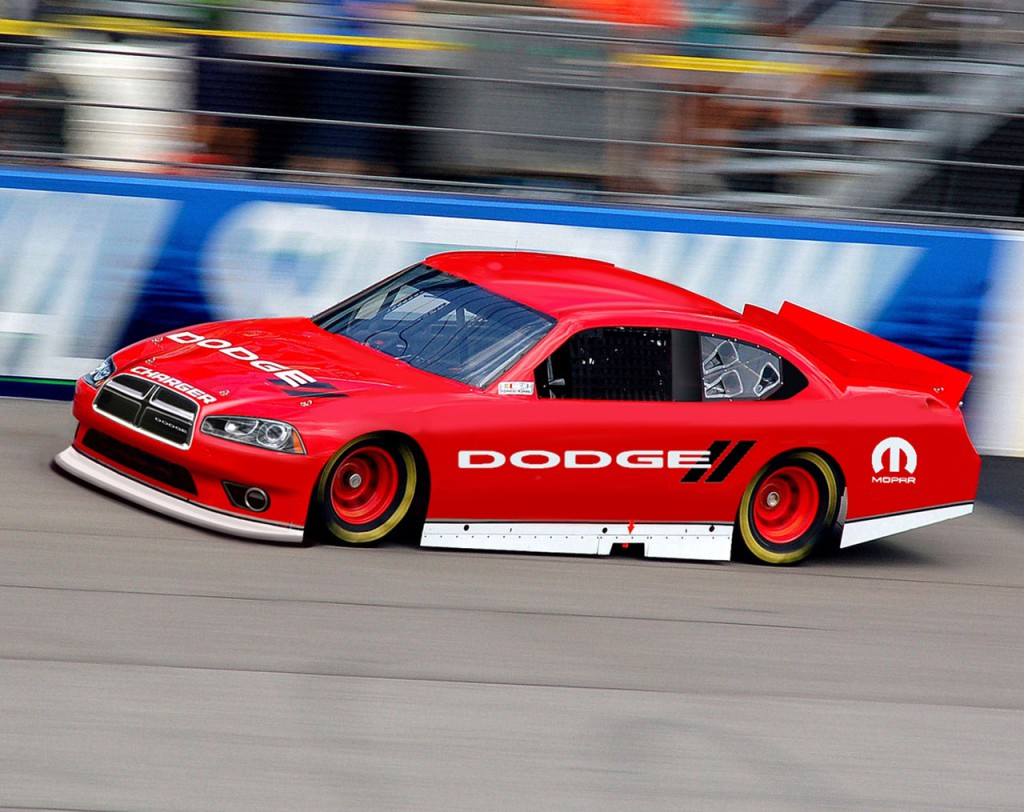 Dodge Charger NASCAR Racer Gets a New Nose » AutoGuide.com News