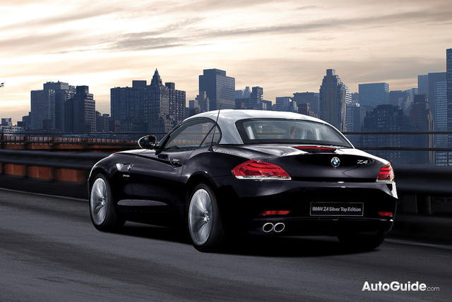 Bmw Z4 Silver Top Edition Released In Limited Numbers In Japan