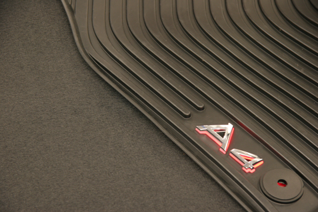 Illuminated Floor Mats Unveiled At Sema By Audi