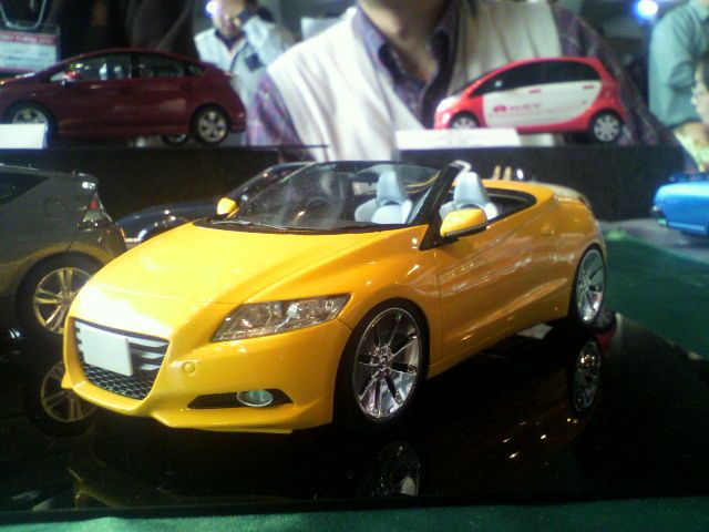 Honda CR-Z Convertible Revealed in Diecast Form ...