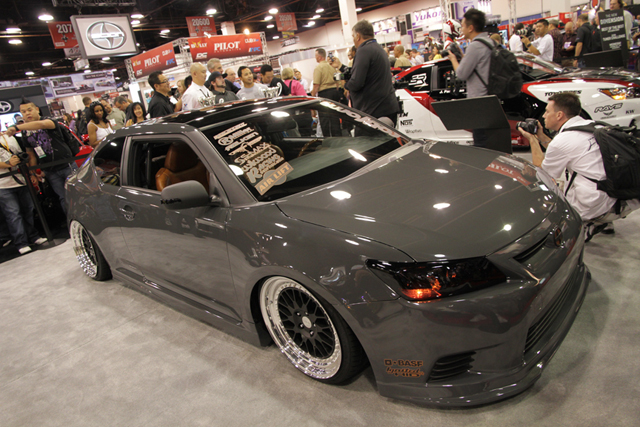 Sema 2010 Shawn Baker Wins Scion Tc Tuner Challenge