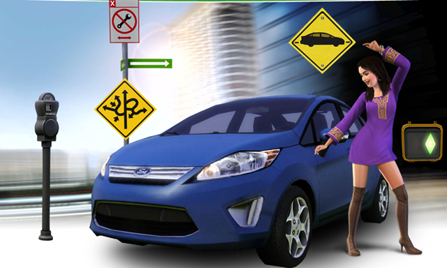 Sims Buick Gmc >> Drive a Ford Fiesta in the New The Sims 3 Game » AutoGuide.com News