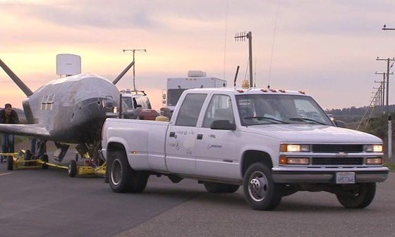 What's Best for Towing a Spacecraft? A 17-Year-Old Chevy ...