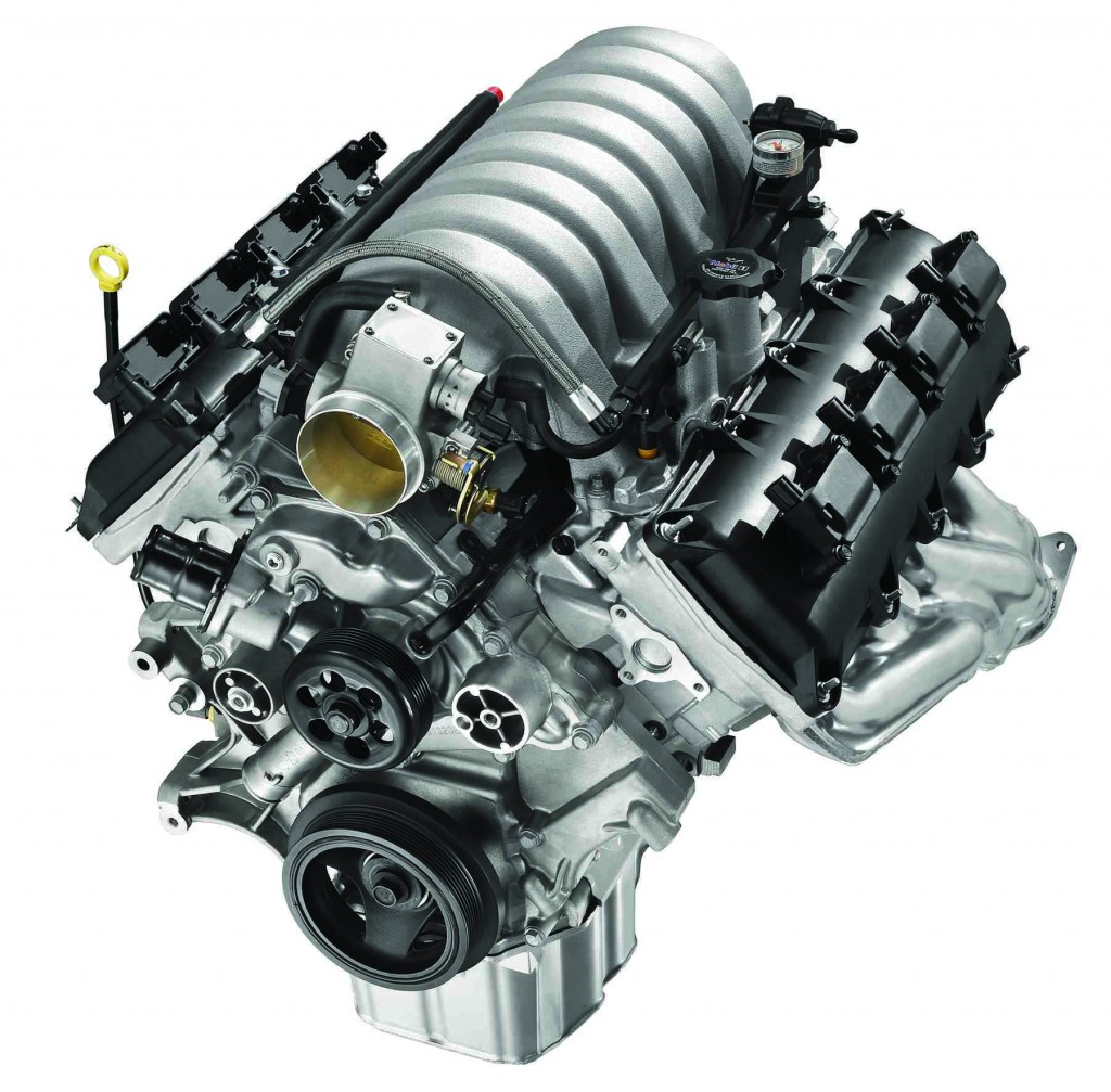 New Hemi Crate Engine X on Dodge Ram Engine Block