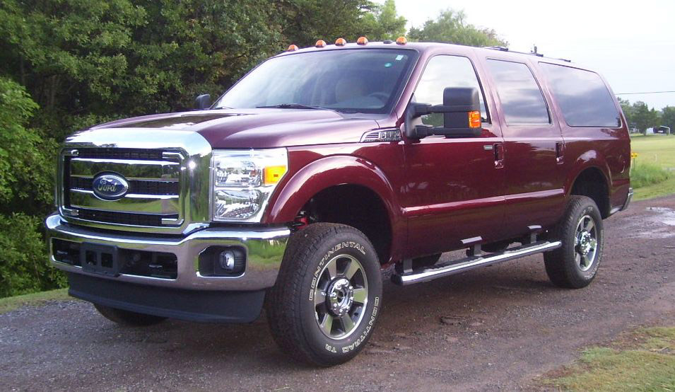 the ford excursion lives on  tree huggers be warned  u00bb autoguide com news