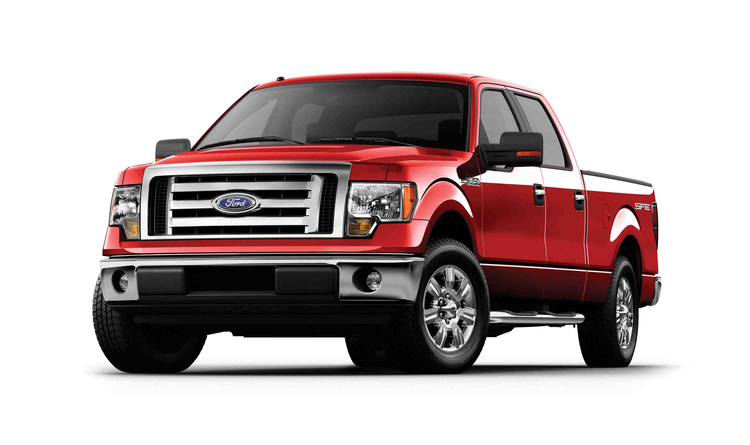 2009 ford f 150 red 200 interior and exterior images. Black Bedroom Furniture Sets. Home Design Ideas