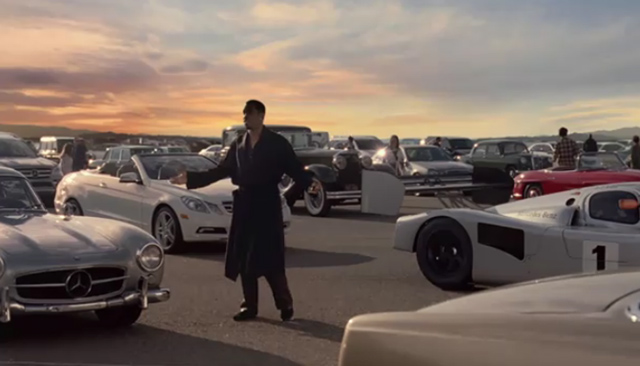 Mercedes Super Bowl Commercial Introduces 2011 Lineup Cameo By