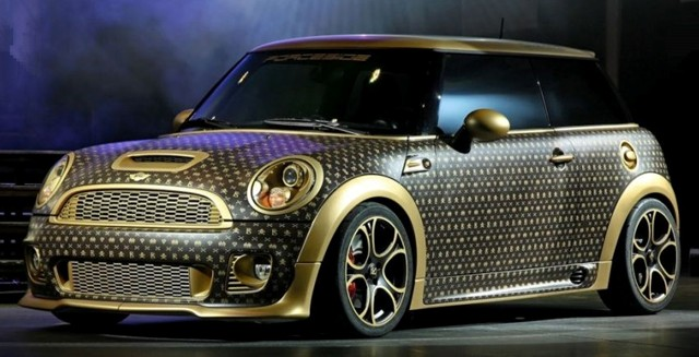 MINI Gets a Louis Vuitton Makeover from CoverEFX ...