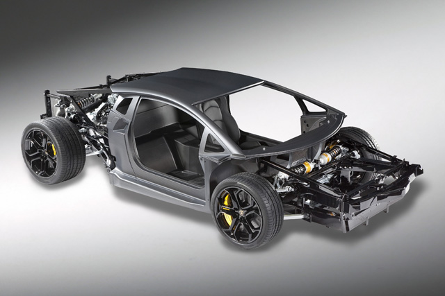 Attrayant Lamborghini Is Continuing The Engineering Strip Tease Of Its Super Sports  Car, With The Latest Reveal Being The Full Rolling Chassis.